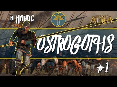 Total War: Attila - Ostrogoths #1|  Looking for a Home