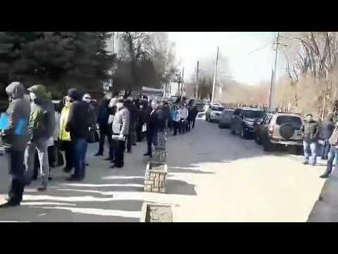 Диверсия против народа: в Саратове сотни людей толпятся в очереди на получение спецпропусков