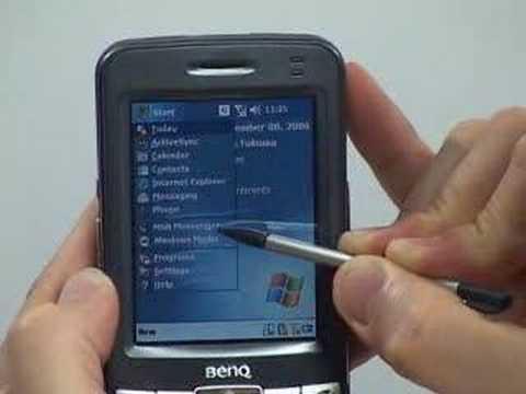 PDA BenQ Siemens P50
