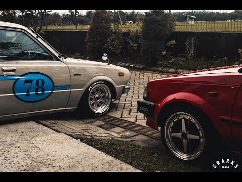 OLD BUT GOLD // Andri's Boosted Starlet EP71 & Adi's Corolla KE30
