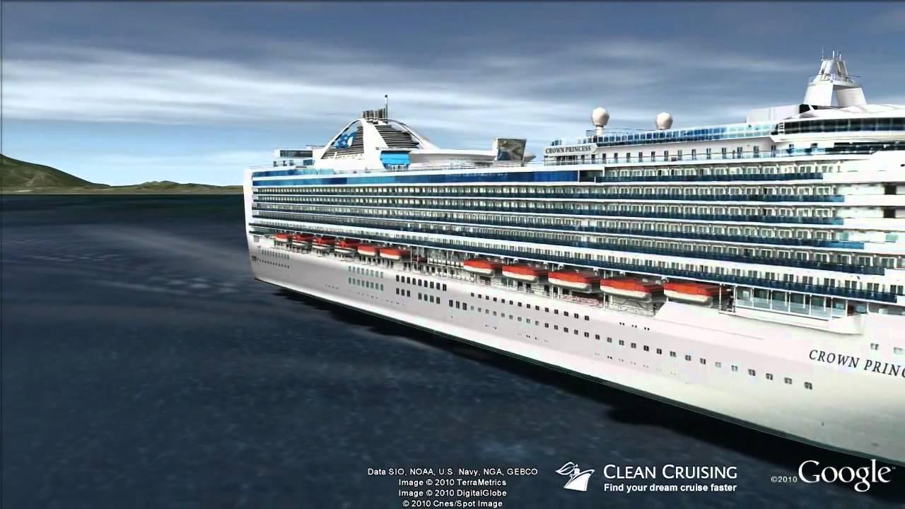 Crown Princess Cruise Ship Virtual Tour