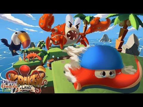 Kraken Land 3D Platformer Adventures (With Secret Areas) Android iOS Gameplay HD