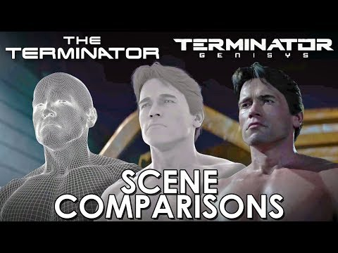 Get The Terminator and Terminator: Genisys - scene comparisons Images