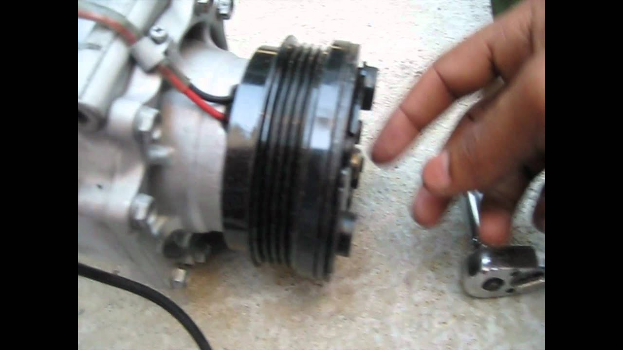 maxresdefault ac compressor and drier replace 1999 honda civic youtube A C Compressor Wiring Diagram at edmiracle.co