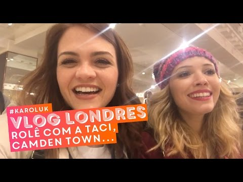 #KarolUK: Harrods com a Taci, Camden Town, Buckingham Palace, fish and chips... • Karol Pinheiro