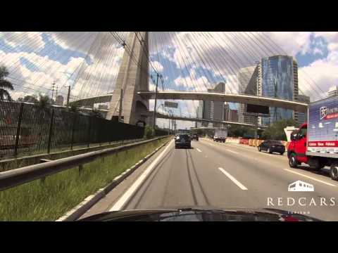 Driving in São Paulo - Vila Andrade to Eldorado Mall