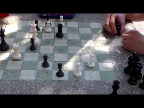 Blitz Chess: David Luscomb vs Grandmaster Ben Finegold - St. Louis Chess Club 2015