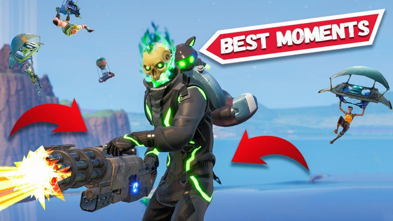 *NEW* INCREADIBLE HOVERBOARD KILL in Fortnite Best Moments Compilation!