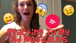 Reacting To My Old Musical.lys