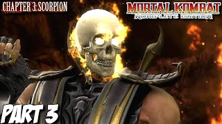 Mortal Kombat Komplete Edition Story Mode Part 3 - Chapter 3: Scorpion (PC, PS3, Xbox 360)
