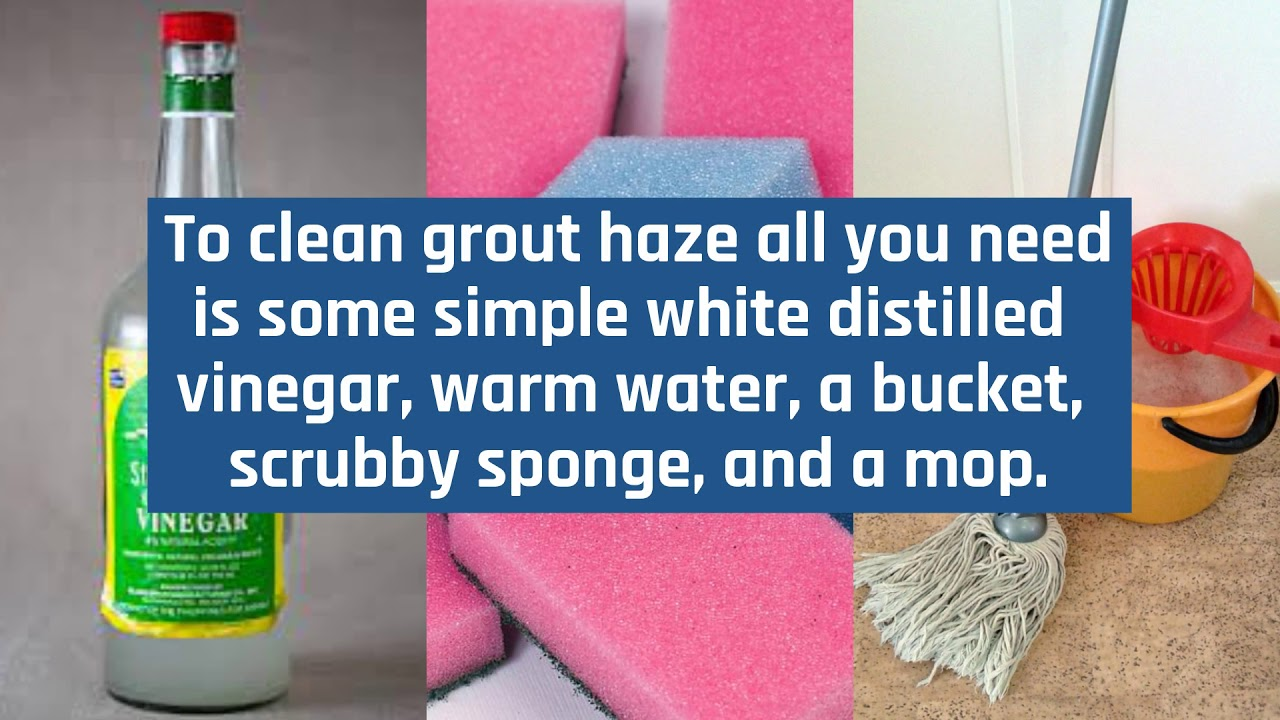 How to Clean Grout Haze - All Kleen Carpet Cleaning