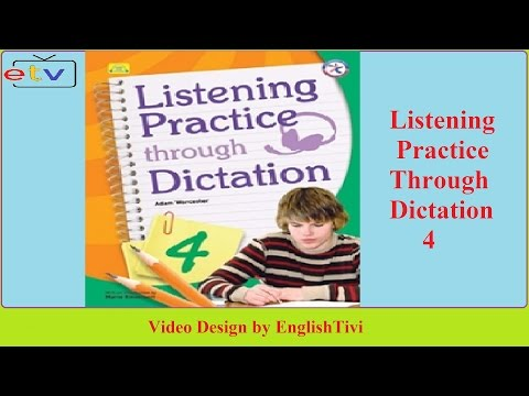 Listening Practice Through Dictation 1 Unit 1 - 40 ● English Listening Practice ✔