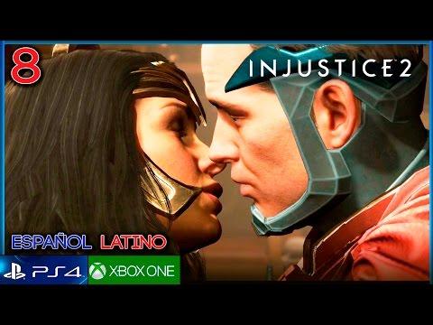 INJUSTICE 2 (Español Latino) Parte 8 Gameplay Historia   Capitulo 8 WONDER WOMAN vs CHEETAH