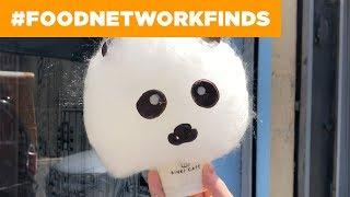 Cotton Candy Hello Kitty, Pandas + More at Binki Cafe | Food Network