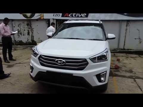 Hyundai Creta Walkaround Polar White Colour