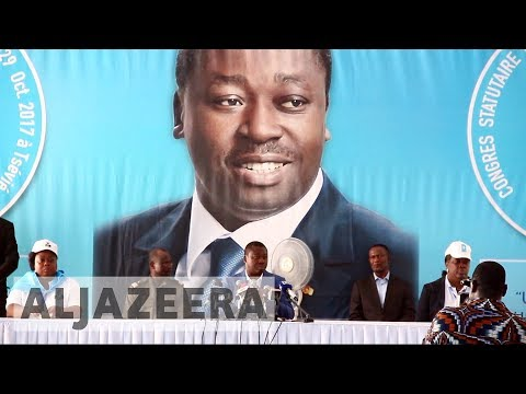 Togo's president defiant in first speech since protests
