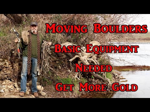 Need to move a boulder or two - here are the basics to get started.