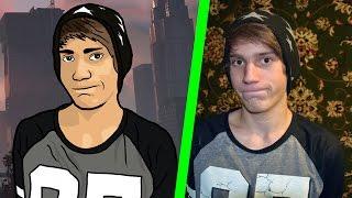Портрет в стиле GTA V в Photoshop(Портрет в стиле GTA V в Photoshop. Видео разделено на две части так как оно шло бы очень долго и вам скорее всего..., 2015-12-05T12:30:31.000Z)