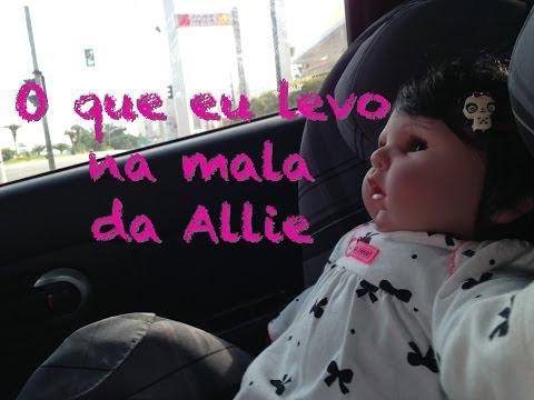 Viajando com a minha Baby Allie: O que eu levo na mala Julia Silva