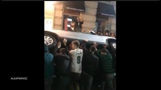 BEST Philadelphia Eagles Super Bowl Reactions *CRAZY RIOTS*