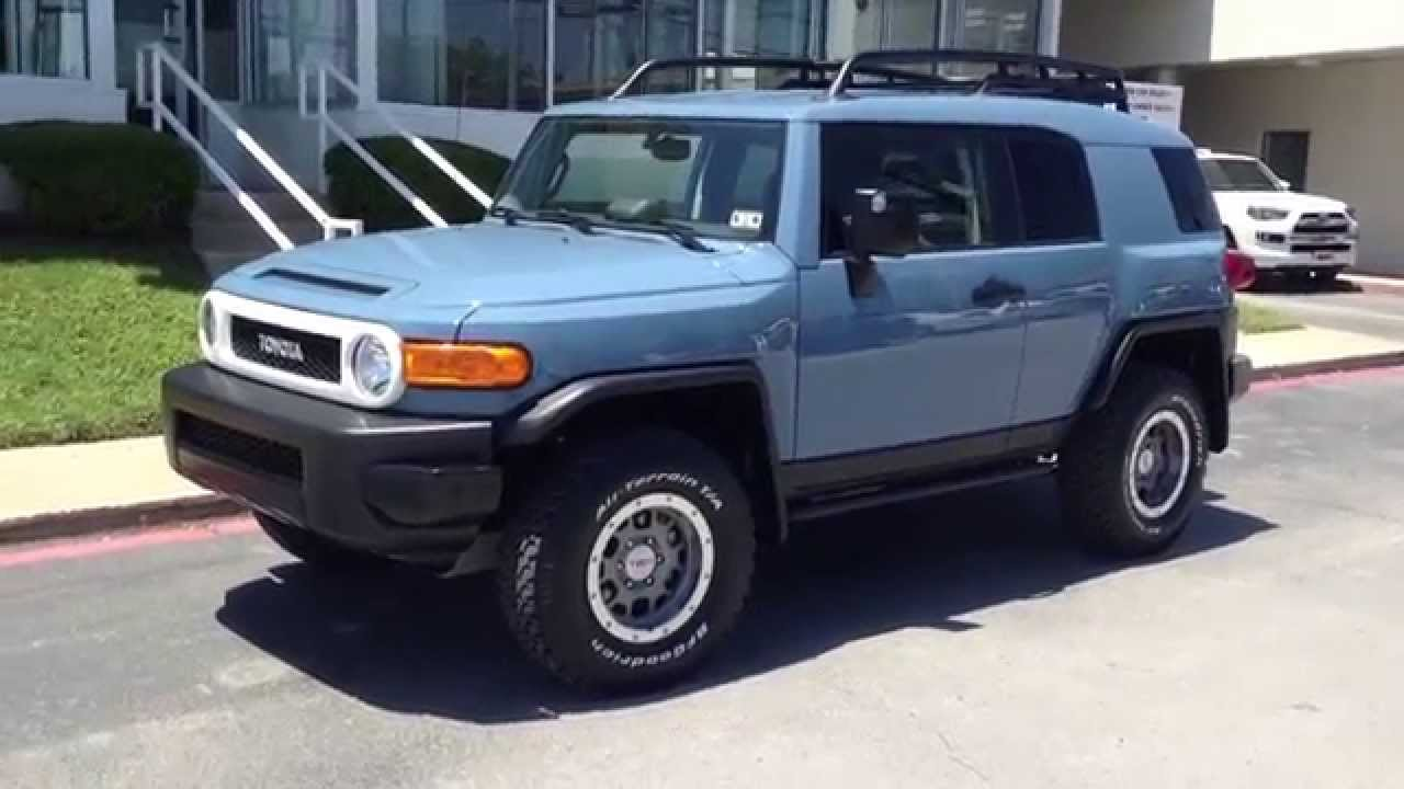 2014 Toyota FJ Cruiser Trail Teams Ultimate Edition at Toyota of