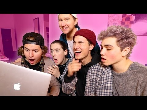 O2L REACTS TO CRINGEY O2L VIDEOS!!
