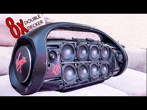 JBL Boombox MAX DOUBLE DECKER | EXTREME BASS TEST
