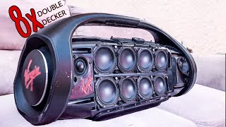 JBL Boombox MAX DOUBLE DECKER EXTREME BASS TEST