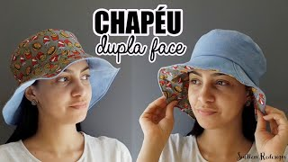 Como fazer Chapéu Dupla Face