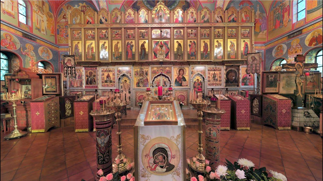 2015.05.21. All-Night Vigil (Engl/Slavonic). Ascension of the Lord. Вознесение Господне. Всенощная