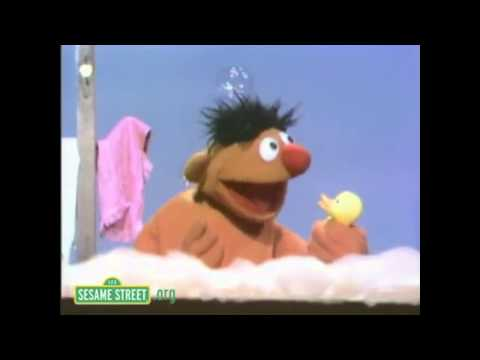 Ernie's Rubber Ducky Song Voice Dubbed/Impersonation