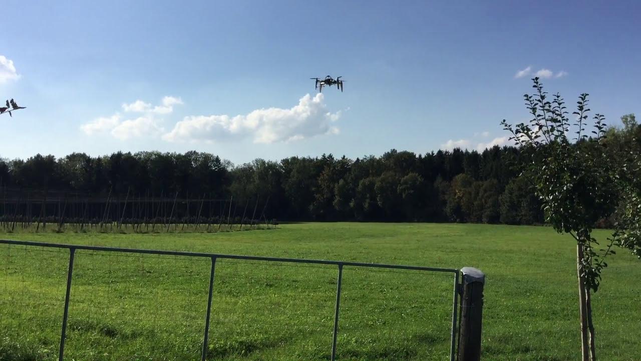 Walkera QR X350 PRO with DEVO 3D Printed Drone Rebuild Flight фото