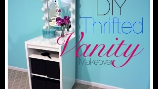 Thrifted Vanity Makeover