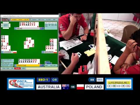 2015 WBTC BB-RR11 BBO-1[OR] AUSTRALIA vs POLAND