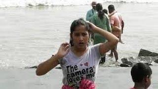 Sweety Teens taking sea bath in Digha sea beach