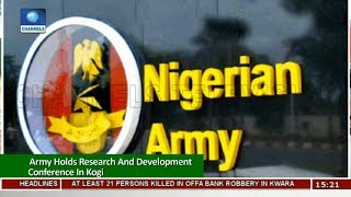 Army Holds Research And Development Conference In Kogi |News Across Nigeria|