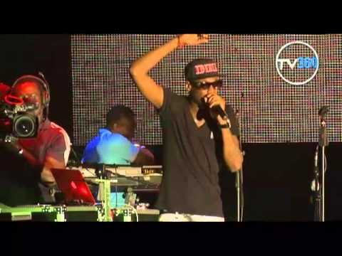TUFACE PERFORMS LIVE AT THE LAGOS 2012 COUNTDOWN