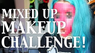 Mixed Up Makeup Challenge - GOING CRAZY!