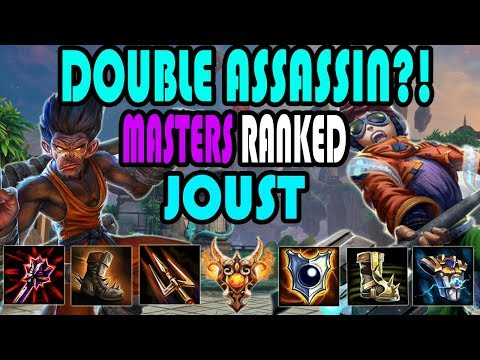 THE NEW JOUST COMP?! Masters Ranked Joust- SMITE
