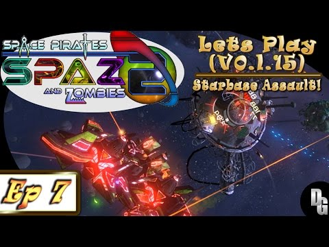 Space Pirates and Zombies 2 ► Let's Play Episode 7 - Bandit Hideout Becomes Space Dust!