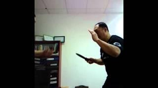 Ножевой бой , 1 урок.