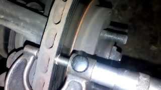 видео Замена дисков Chevrolet Aveo (Шевроле Авео)