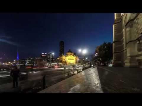 Flinders Street Railway Station - Melbourne Victoria Australia