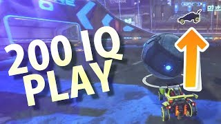 ACTUAL 200 IQ PLAY! (Rocket League Funny Moments #7)