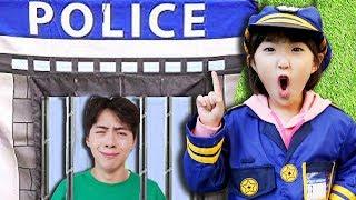 경찰놀이!! 쓰레기 함부로 버리면 안돼요.좋은 습관 배우기 POLICE KID Pretend Play and Mashu go to Jail  마슈토이 Mashu ToysReview