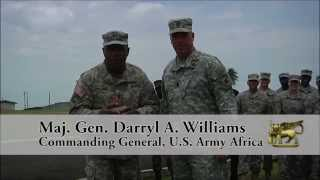 US Army Africa Go Army, Beat Navy Spirit Video