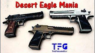 Desert Eagle Mania (Range Review) - TheFireArmGuy