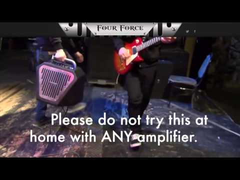 Watch this video of an INDESTRUCTIBLE AMP! - Four Force Guitar Amp
