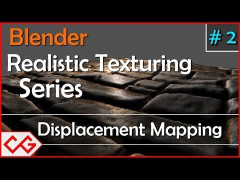 Blender Displacement map Tutorial - How to use Displacement map in Blender (Displacement mapping)