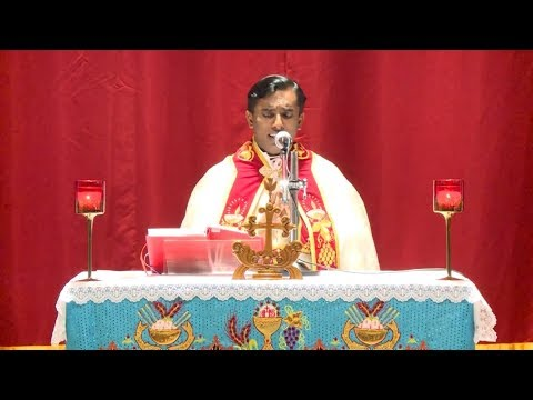 St.Thomas Syro-Malabar Church Doha-Qatar Holy mass by Fr.Jose Karingadayile